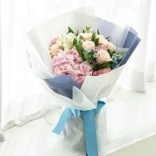 예쁜꽃다발핑크(핑크혼합꽃다발)